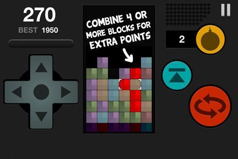 Block Attack Free Puzzle Game截图2
