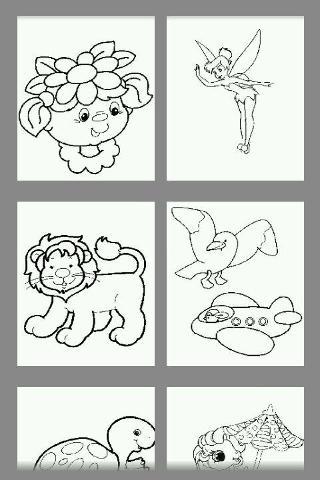 儿童学画画,学最基本的颜色和颜色的图片