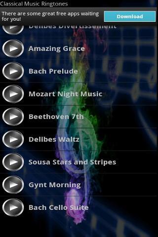 古典音樂鈴聲截图3