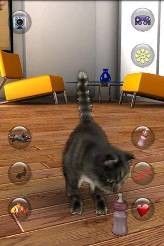會說話的貓搞笑