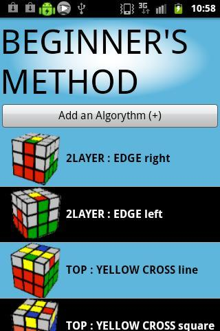 Magic Cube Algo DataBase截图3