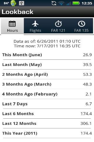 Logbook Pro Pilot Flight Log截图3