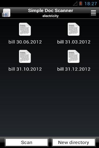 簡單的文檔掃描儀截图0