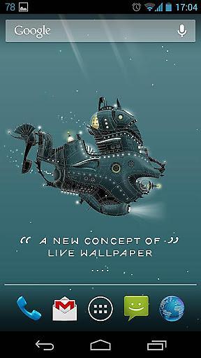 鹦鹉螺号动态壁纸