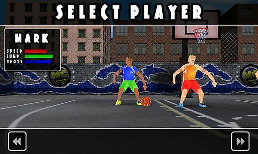 街头篮球:一对一截图1