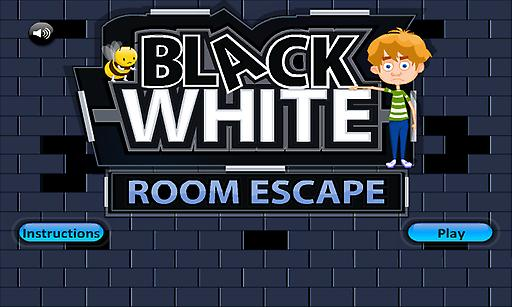 逃离黑白房间