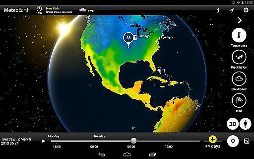 MeteoEarth全球天气截图1