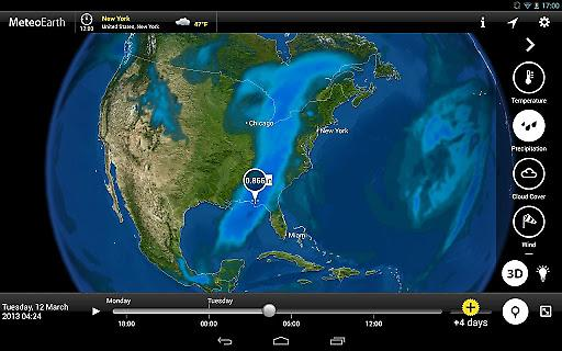 MeteoEarth全球天气截图3