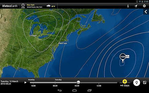 MeteoEarth全球天气截图4