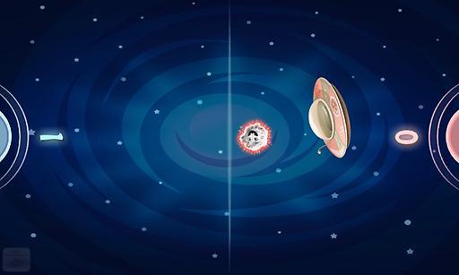 太空双人曲棍球截图1