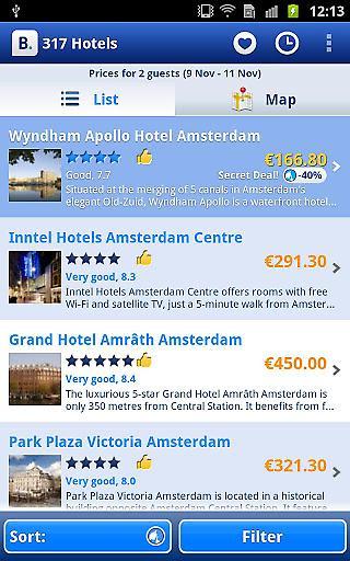 酒店预订截图1