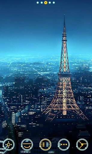 宝软主题-城市夜景
