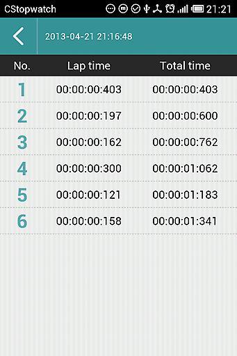 C秒表截图3