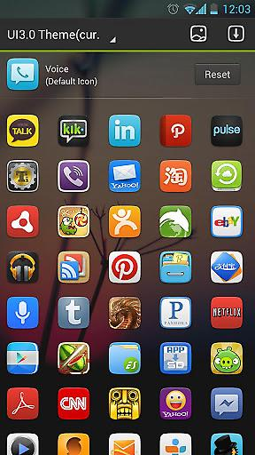 GO桌面UI3.0主题截图3
