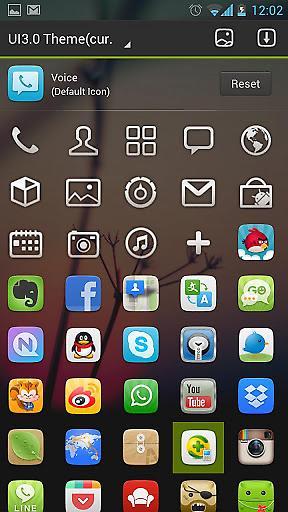 GO桌面UI3.0主题截图4