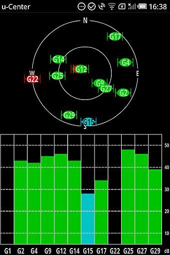 u-center GPS测试器