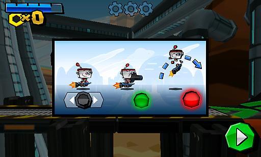 【免費動作App】机器人奔袭-APP點子