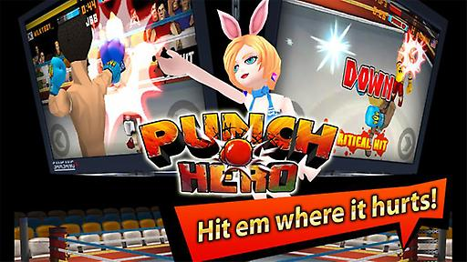 《拳击英雄》 LINE Punch Hero V1.3.2 - 网侠手机站