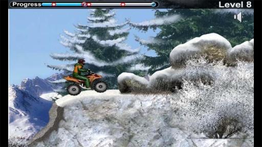 雪地车手之摩托竞速截图1
