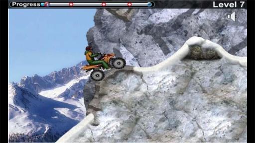 雪地车手之摩托竞速截图2