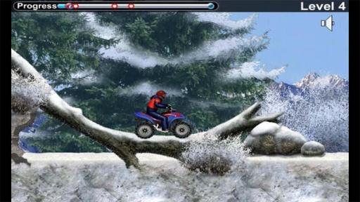 雪地车手之摩托竞速截图3