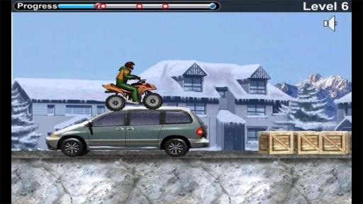 雪地车手之摩托竞速截图4