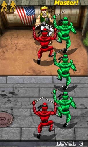 忍者空手道防御截图1