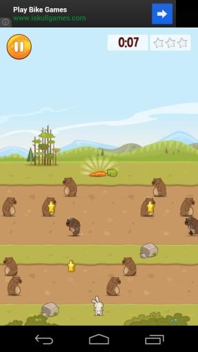 饥饿的兔子截图2