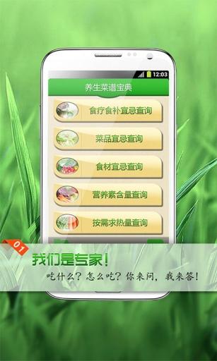 养生菜谱宝典截图1