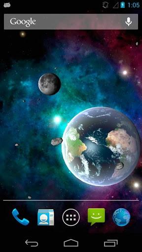太阳系动态壁纸截图3