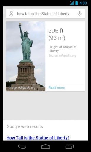 谷歌搜索截图1