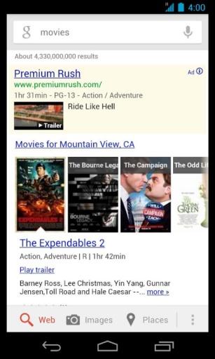谷歌搜索截图2