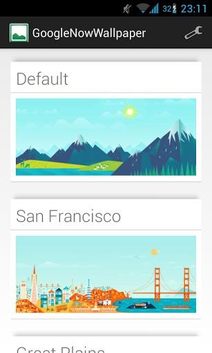 玩工具App GoogleNowWallpaper免費 APP試玩