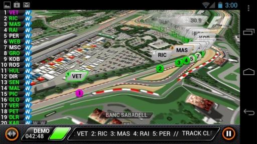F1赛场跟踪2013截图1