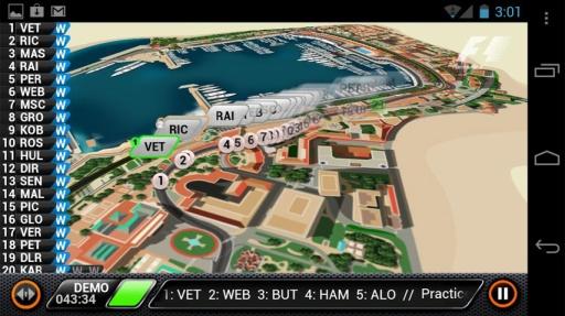 F1赛场跟踪2013截图2