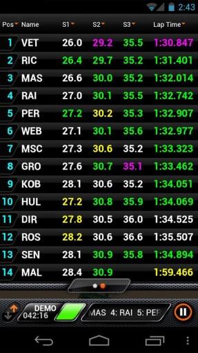 F1赛场跟踪2013截图3