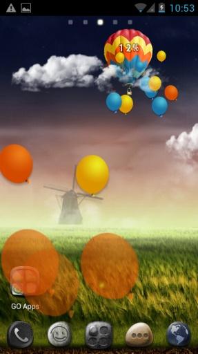 超级主题五彩气球