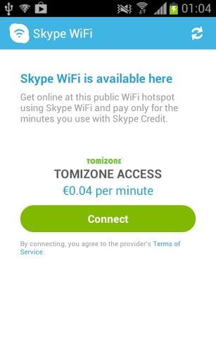 Skype WiFi截图4