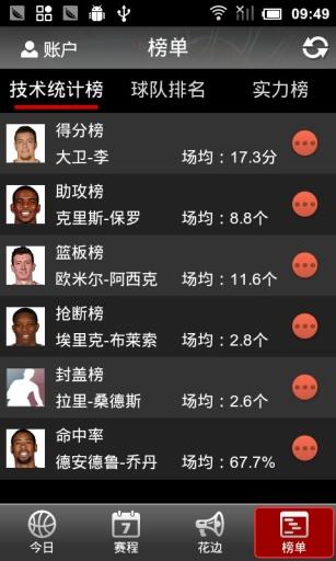 NBA直播截图3