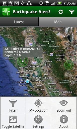 地震警报截图2