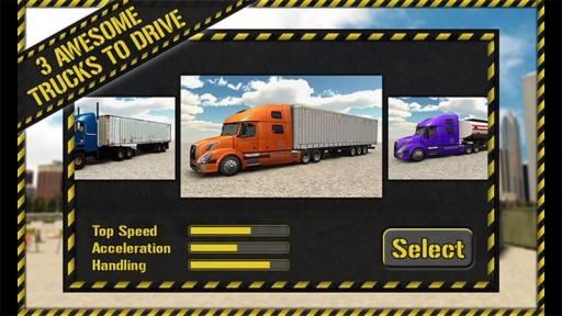 卡车停车3D截图1