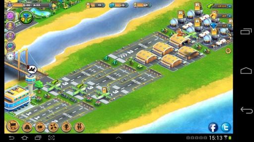 城市岛屿 机场