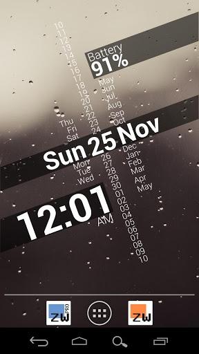 Zooper时钟插件截图2