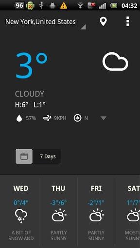 轻松天气截图1