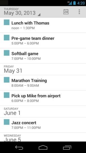 【免費生活App】谷歌日历-APP點子