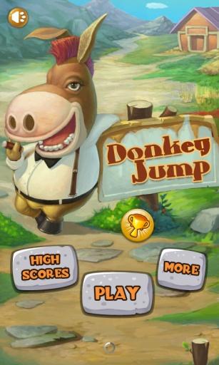 可爱驴跳跃