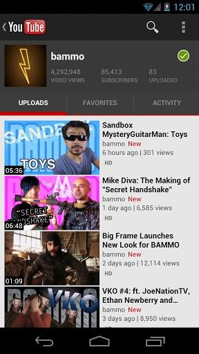 【免費媒體與影片App】YouTube-APP點子