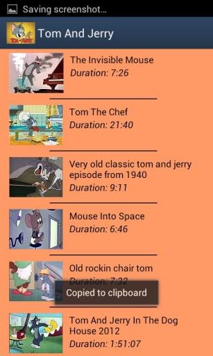 Tom & Jerry Videos截图0