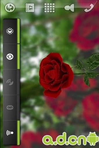 3D玫瑰花动态壁纸截图2