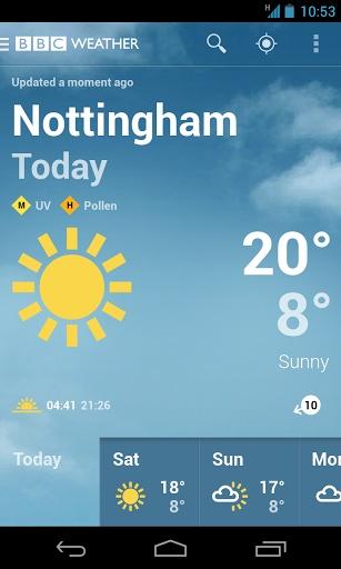 BBC天气